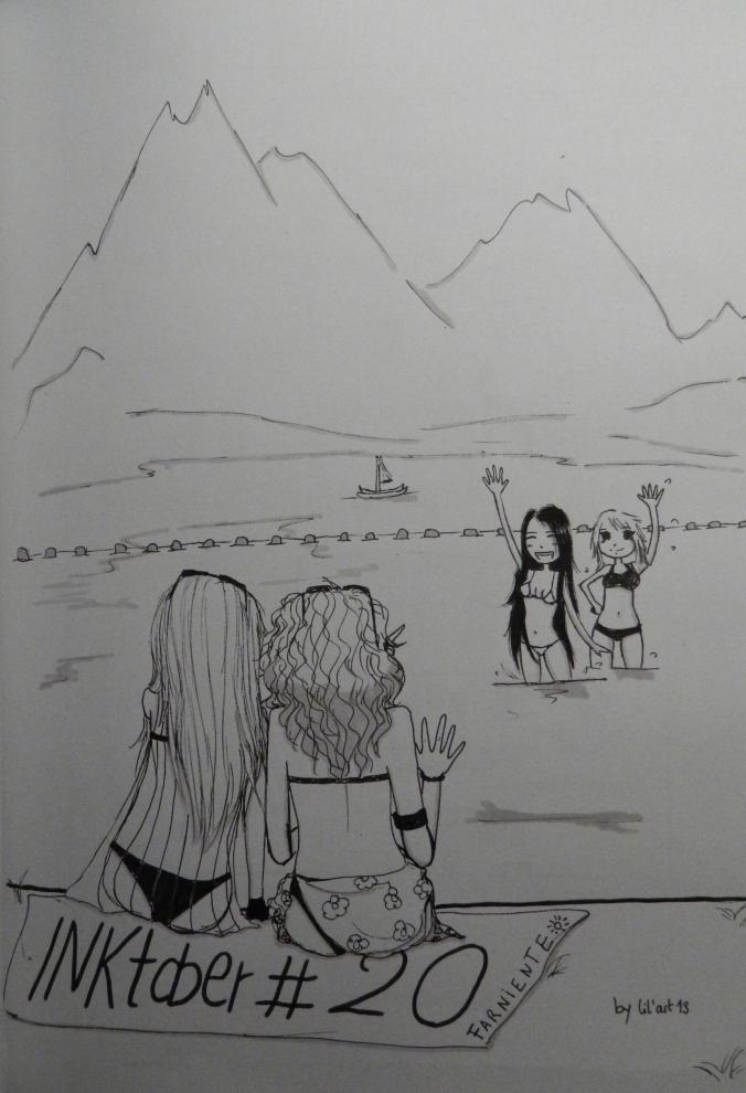 Inktober #20 : Farniente